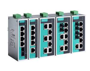 Moxa EDS-208A unmanaged industrial Ethernet switch