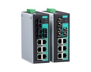 Moxa EDS-309 unmanaged industrial Ethernet switch