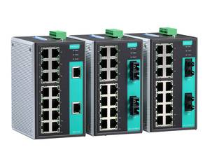 Moxa EDS-316 unmanaged industrial Ethernet switch