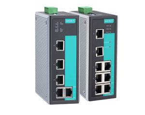Moxa EDS-405A 408A managed industrial Ethernet switch