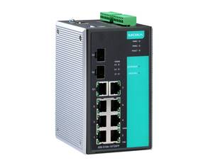 Moxa EDS-510A managed industrial Ethernet switch