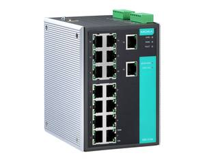 Moxa EDS-516A managed industrial Ethernet switch