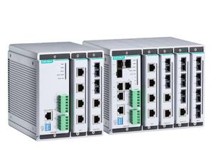 Moxa EDS-608/611/616/619 managed industrial Ethernet switch