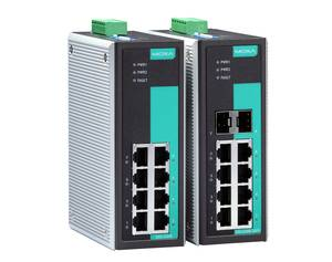 Moxa EDS-G205/G308 unmanaged industrial Ethernet switch
