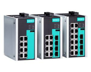 Moxa EDS-G500E managed industrial Ethernet switch