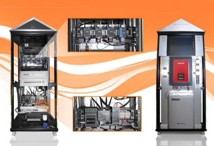 Case study: Lightsource solar power rack cabinet